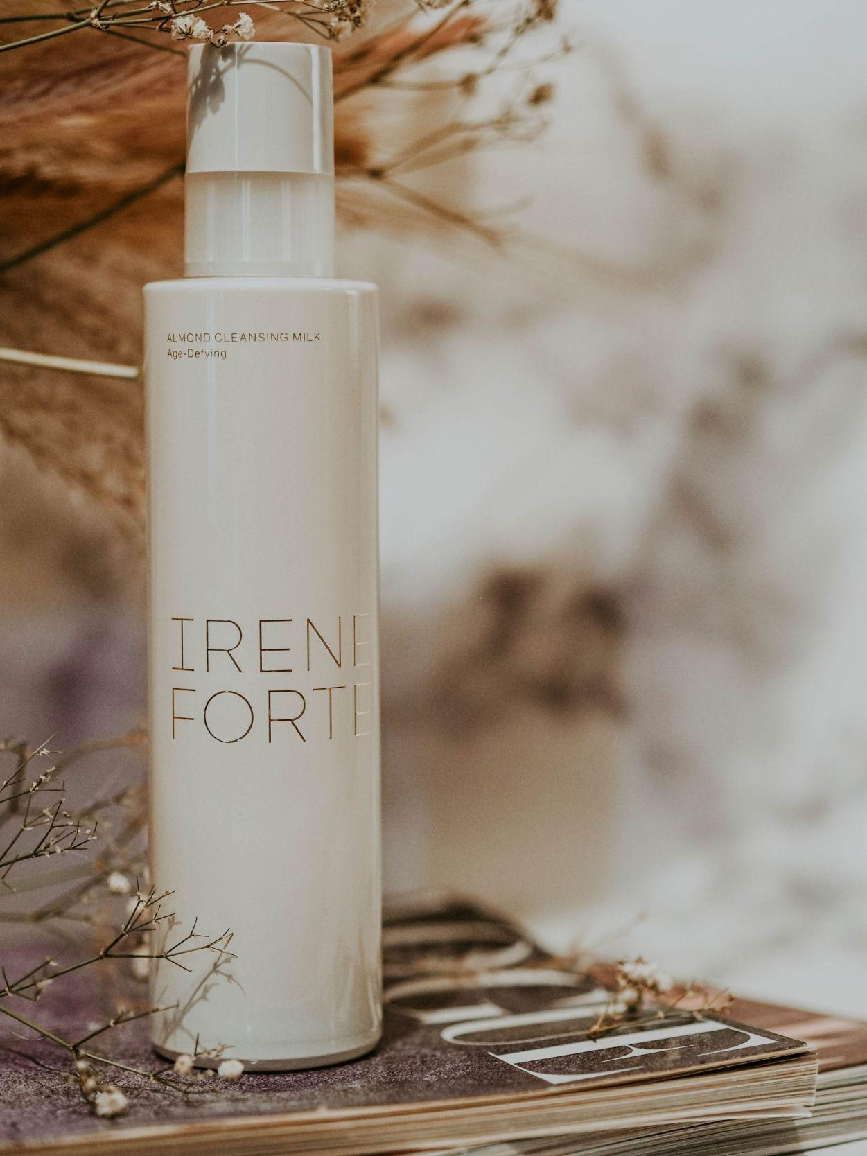 Irene Forte Skincare Review Kate Winney Almond Cleansing Milk