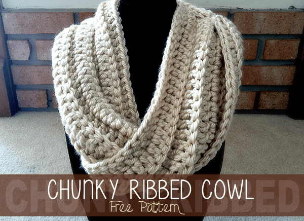 Chunky Ribbed Cowl Free Pattern Little Monkeys Crochet