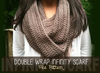 Double Wrap Infinity Scarf