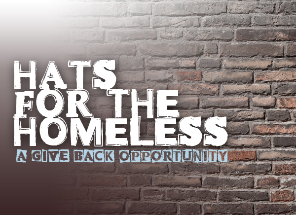 Hats for the Homeless - a GiveBack Opportunity