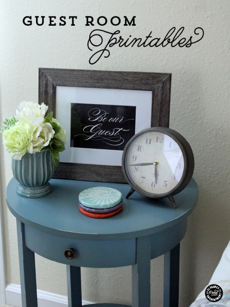 Printable Guest Room Photos | Elegance and Enchantment