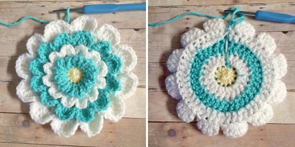 Little Girl's Wildflower Purse     Free Crochet Pattern by Little Monkeys Crochet