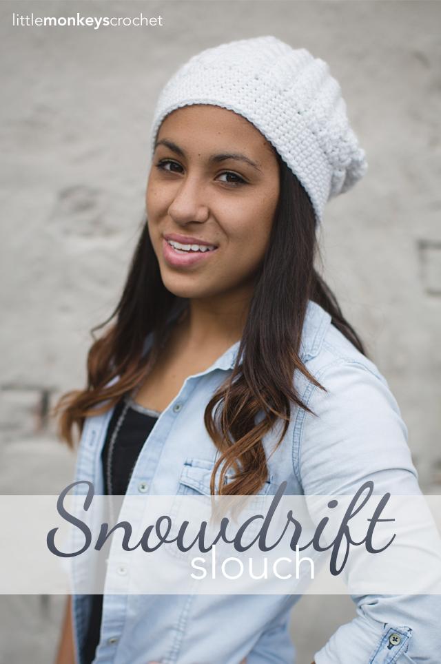 0d78e5af5b88f Snowdrift Slouch Crochet Pattern