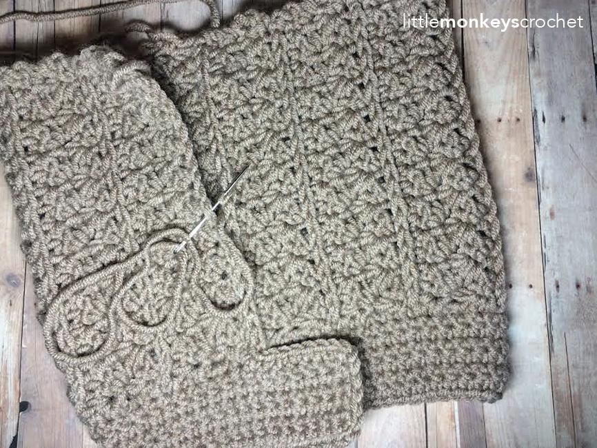 Yenni Chunky Slouch Hat Crochet Pattern | Little Monkeys Crochet