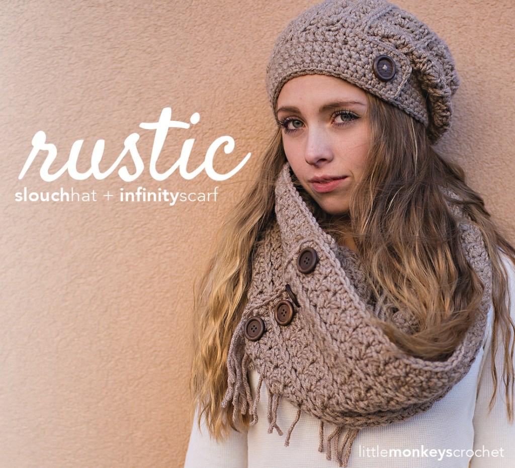 Rustic Fringe Scarf Crochet Pattern Little Monkeys Crochet