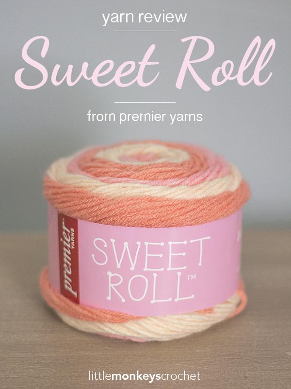 Premier Yarns 1047-04 Sweet Roll Yarn-Cherry Swirl