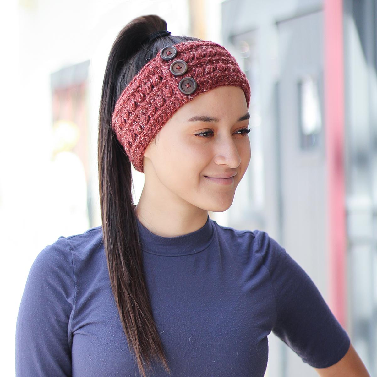 The Malia Earwarmer | Little Monkeys Crochet