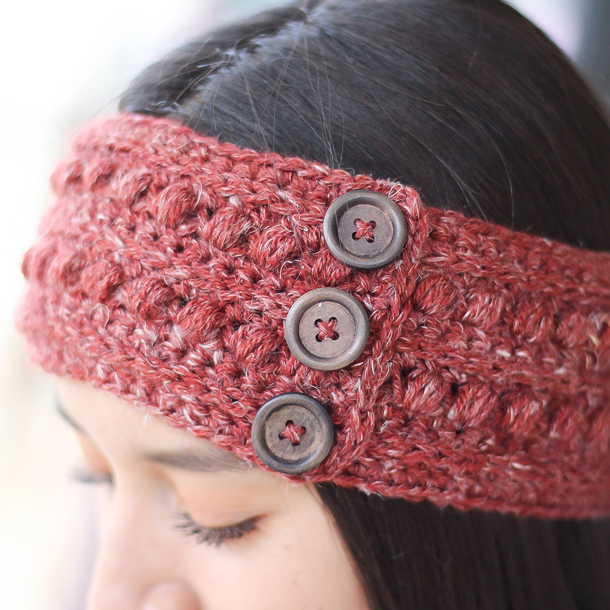Free Crochet Ear Warmer Pattern With Button Closure Best Inspiration