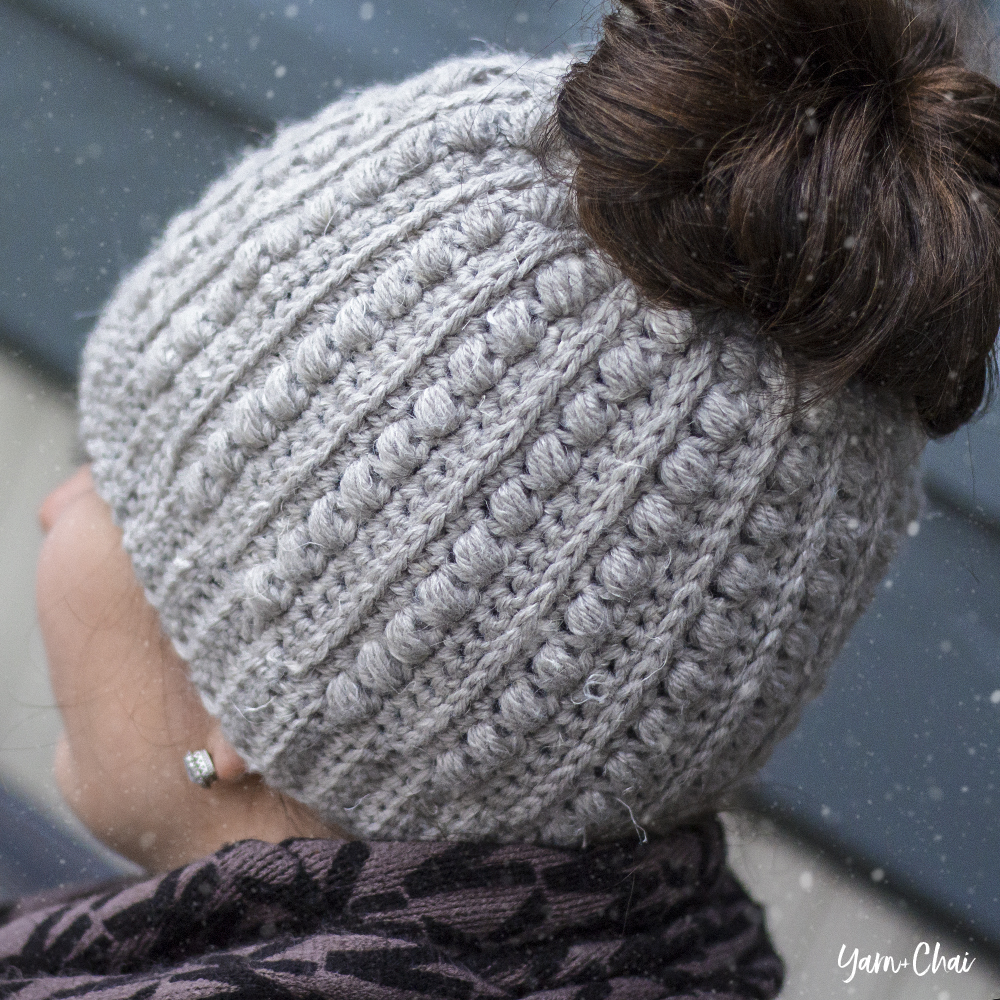 6339ab38da7f9 The Malia Messy Bun Beanie