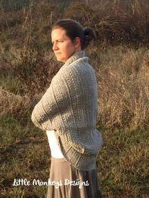 Crochet Pattern - Angela' Shrug Cardigan Girls And