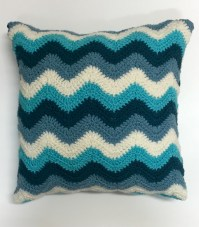 Crochet Patterns - Chevron Pillow Cover