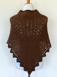 Triangle Shawl Crochet pattern by Little Monkey's Designs
