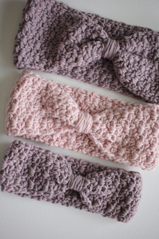 Ava Ear Warmer Crochet Pattern  Little Monkeys Designs