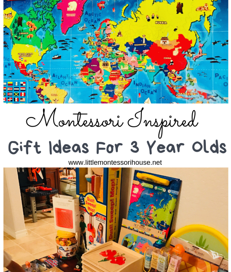 Montessori Inspired Birthday Gifts For 3 Years Old