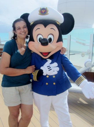 Jessica and Captain Mickey April 2013