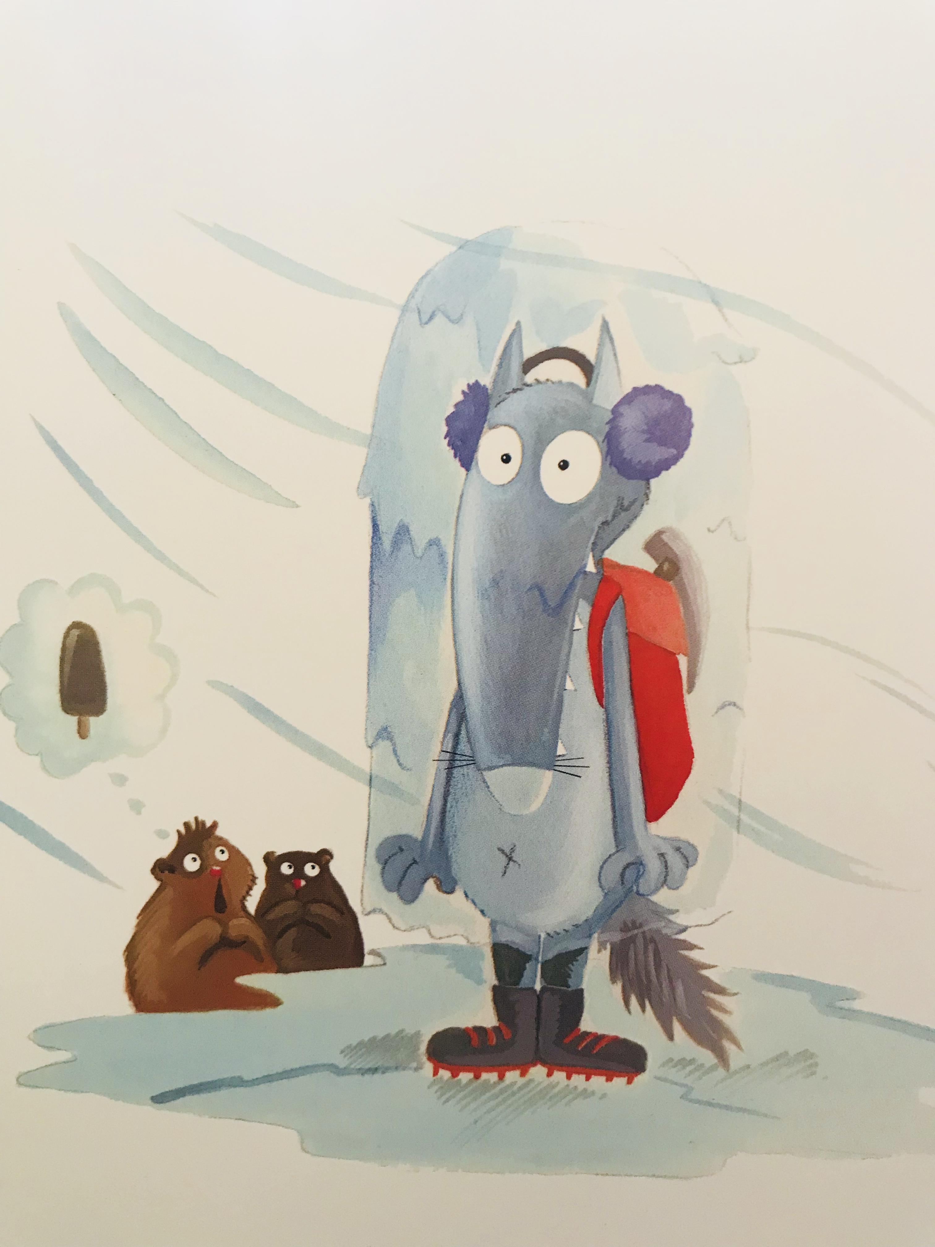 Le Loup Qui Escaladait Les Montagnes : escaladait, montagnes, Série, Mercredi, (1/2), Escaladait, Montagnes, LittlemumLittleboy