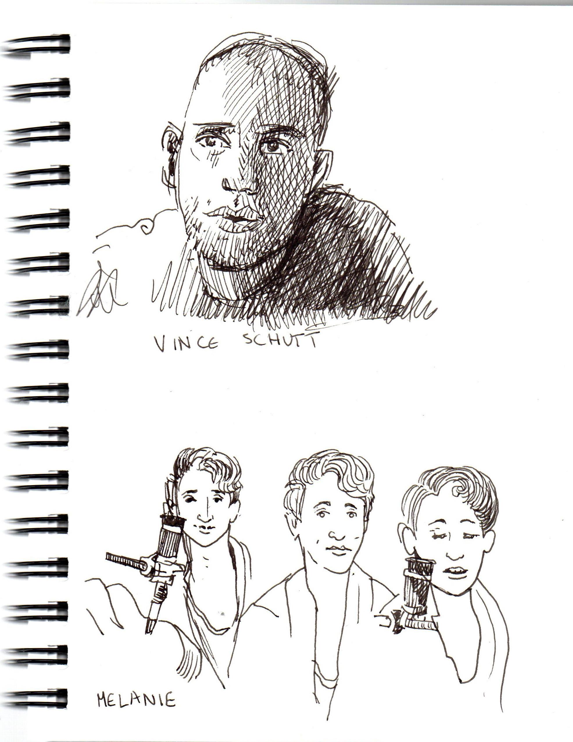 Vince Schutt and Melanie