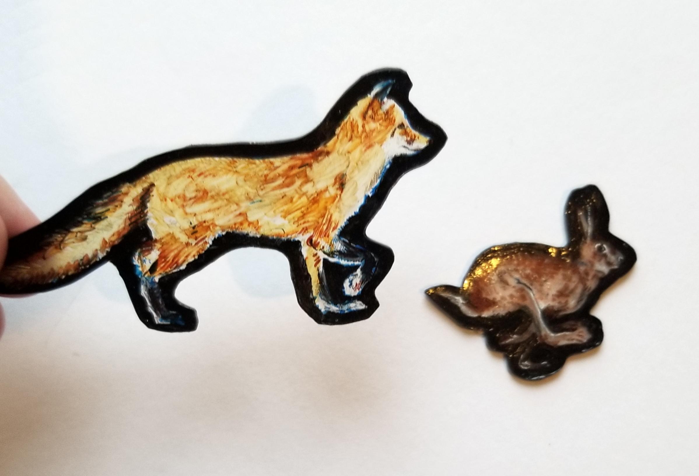 shrink film fox