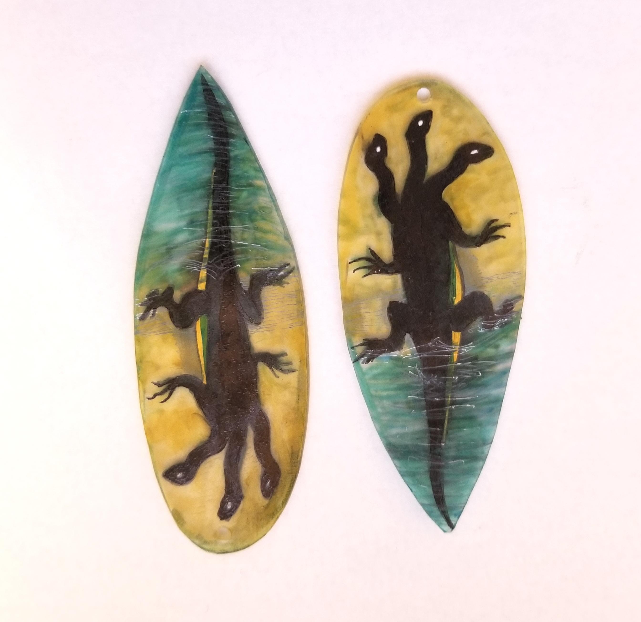 Hieronymus Bosch Three Headed Lizard