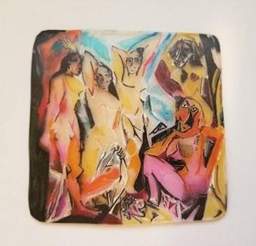 Pablo Picasso Les Demoiselles d'Avignon Sketches