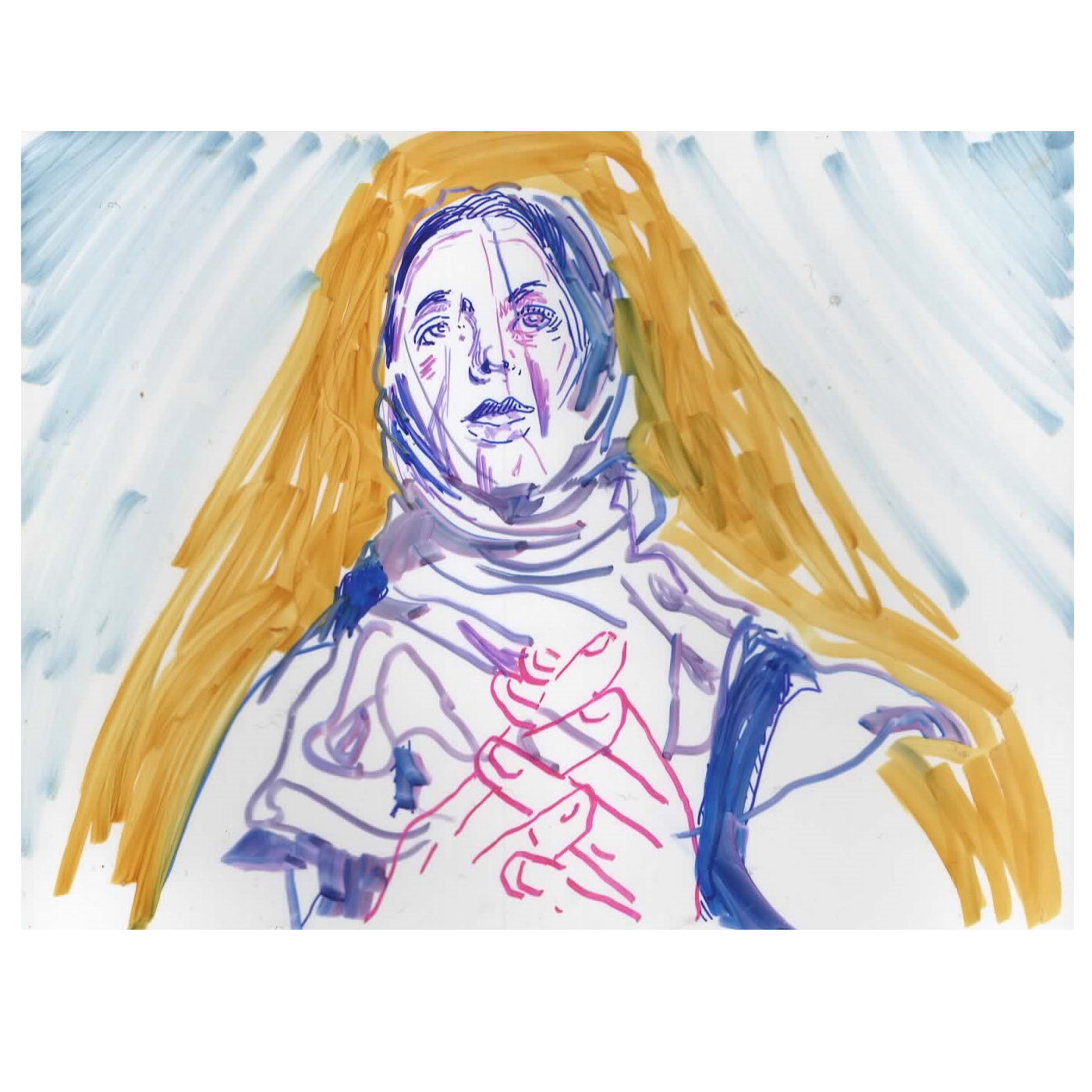 Saint Kim the 10 minute Veiled Shrink Film portrait