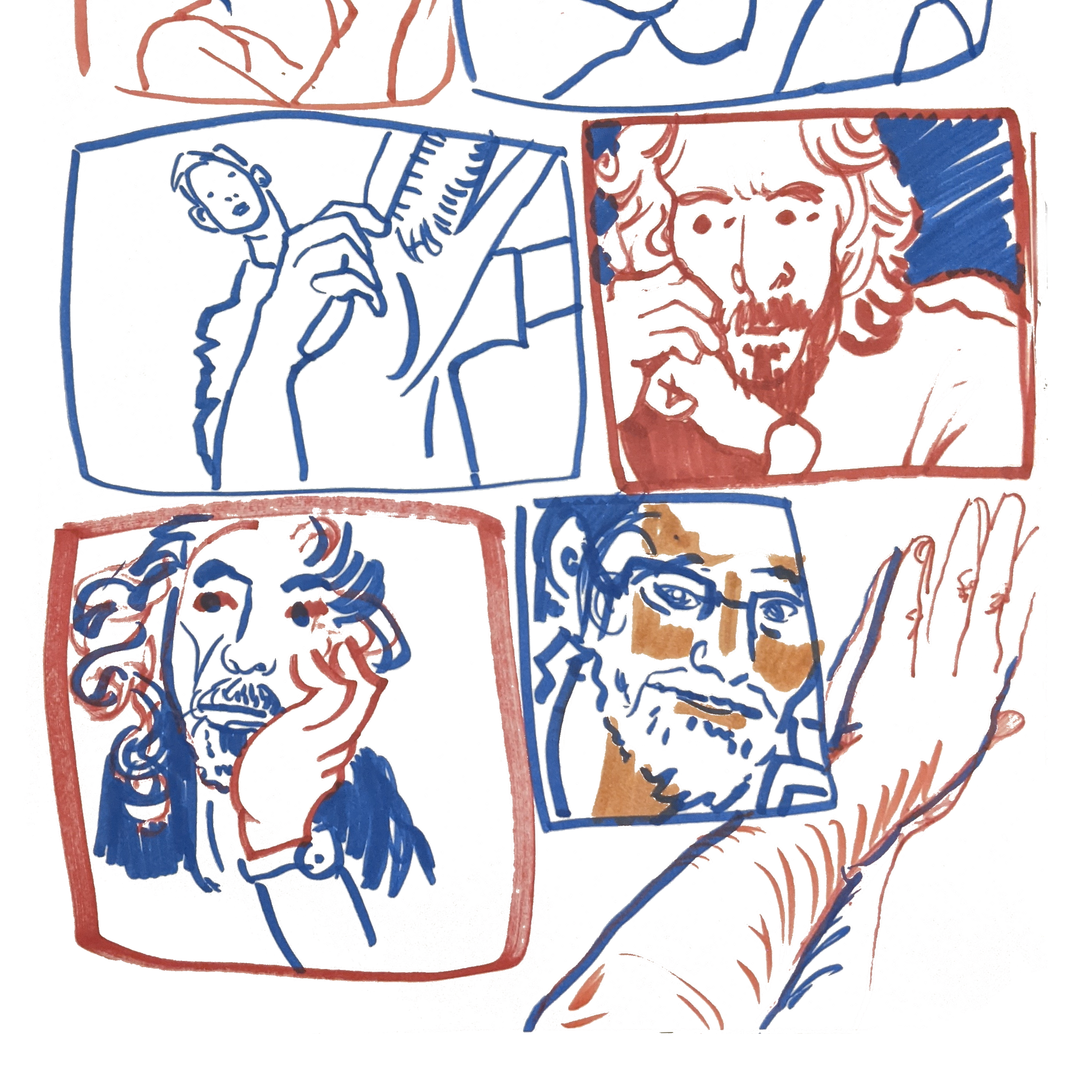 Two Minute Portraits - Bottom 4