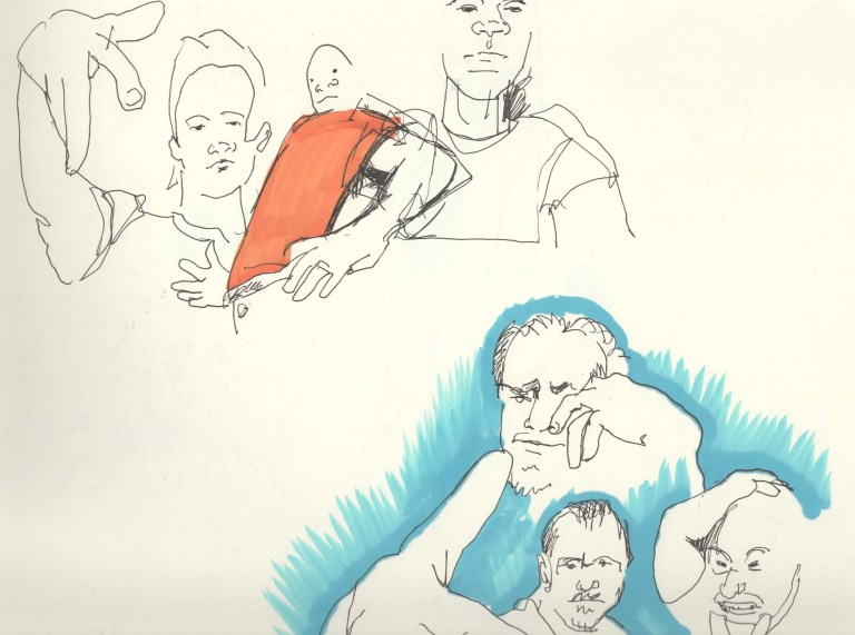 Collective One Minute Drawings