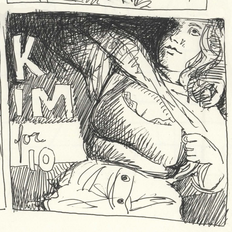 Comic Panels for the Collective - 10 Minutes of Kim