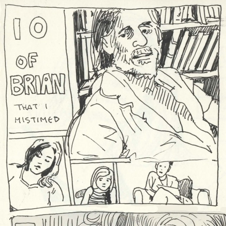 Comic Panels for the Collective - 6 Minutes of Brian