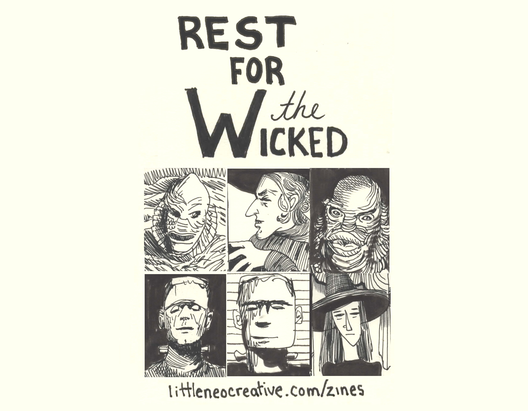 Page 1 Rest for the Wicked Cover