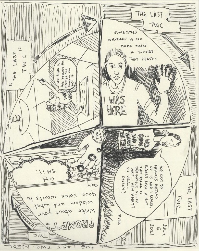 The Last TWC PROMPT 4 part Circle comic part 3