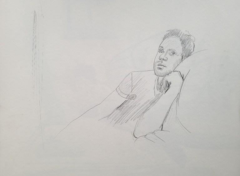 Five Minute Portrait - Francis - Rule of Odds