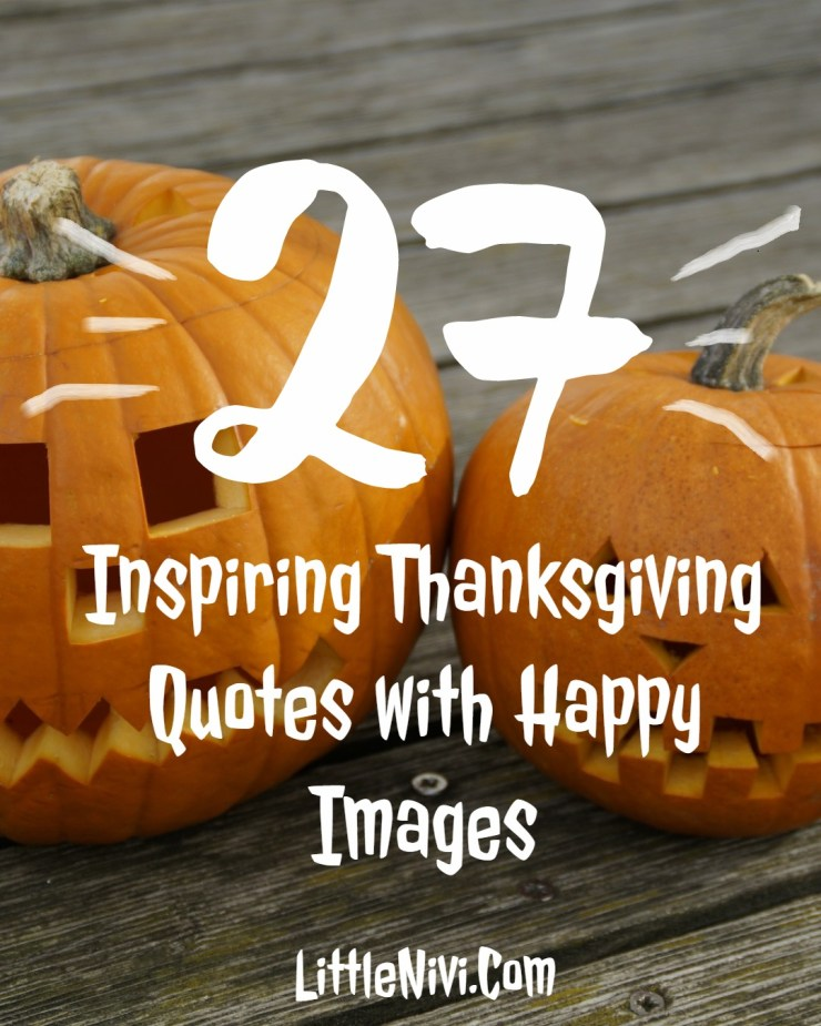 Inspiring Thanksgiving Quotes with Happy Images