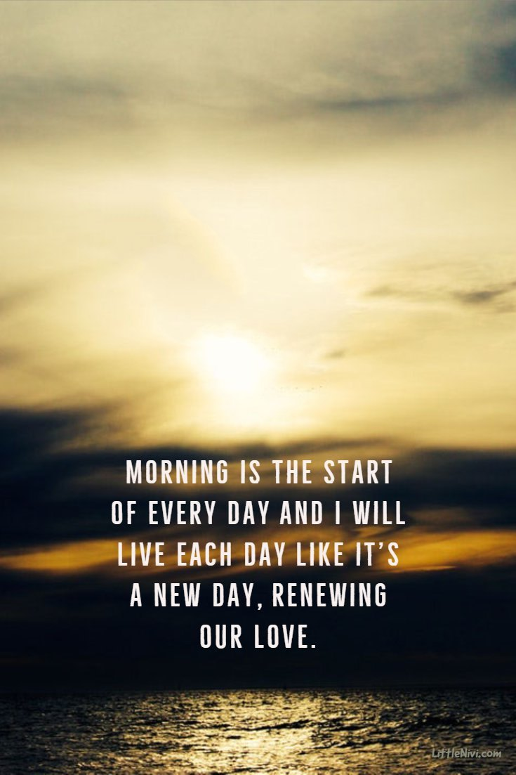 35 Inspirational Good Morning Quotes with Beautiful Images 9