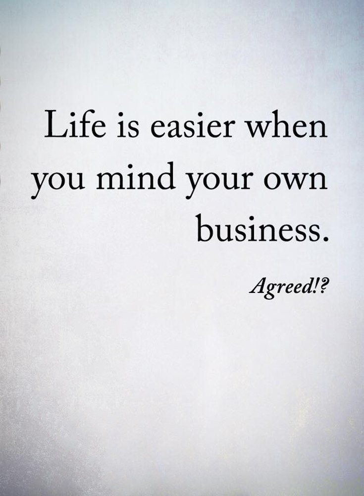 Minding My Own Business Quotes : minding, business, quotes, Business, Quotes, FinanceViewer