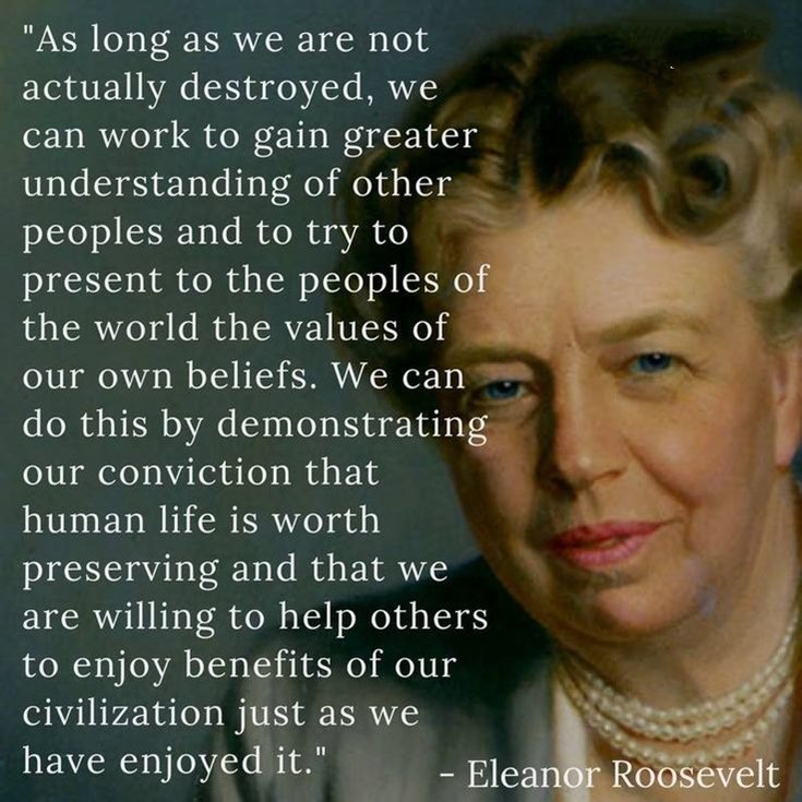 67 Eleanor Roosevelt Quotes And Sayings 32