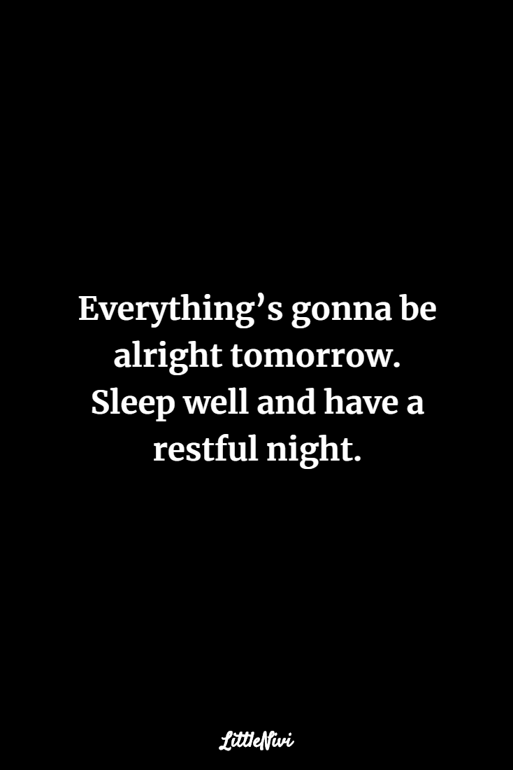 Good Night With Quotes 3