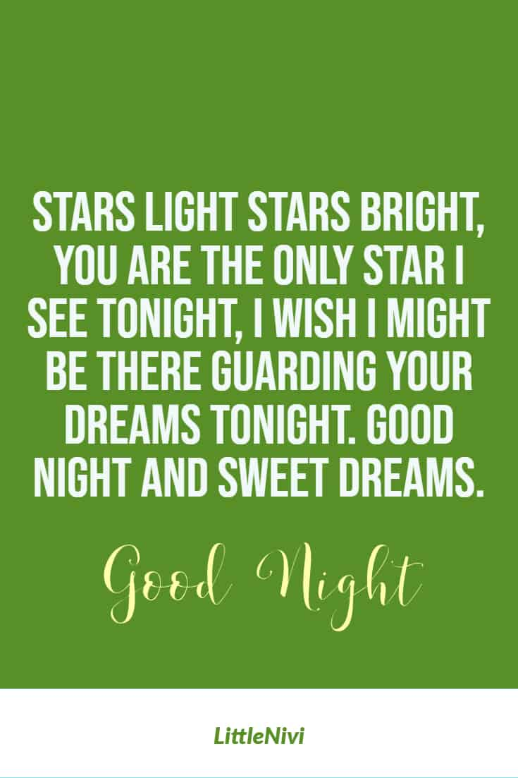 Good Night Messages Love Quotes Sayings