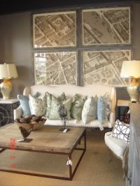 Decorating with maps | little Nudge