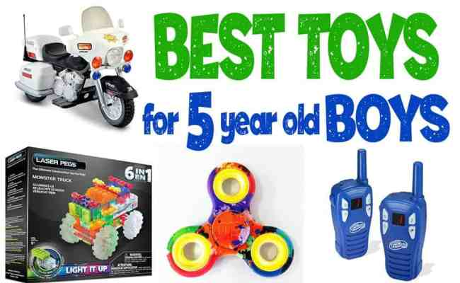 Best Toys And Gift Ideas For 5 Year Old Boys 2020