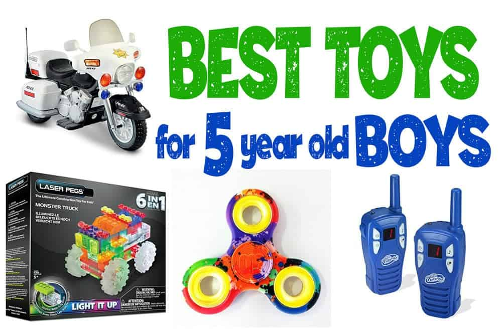 Best Toys And Gift Ideas For 5-Year Old Boys To Buy 2019