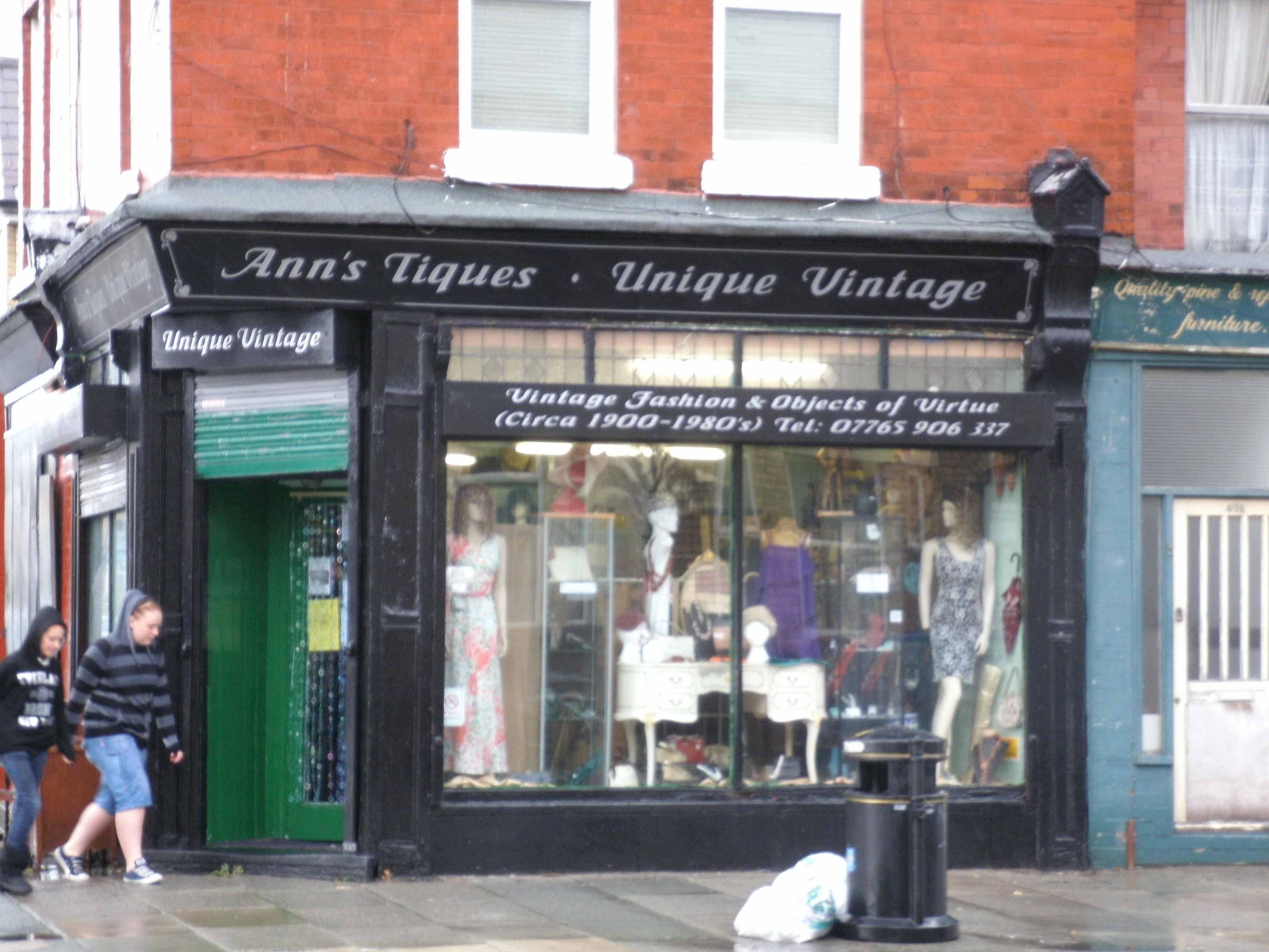 Vintage Shop in Crosby