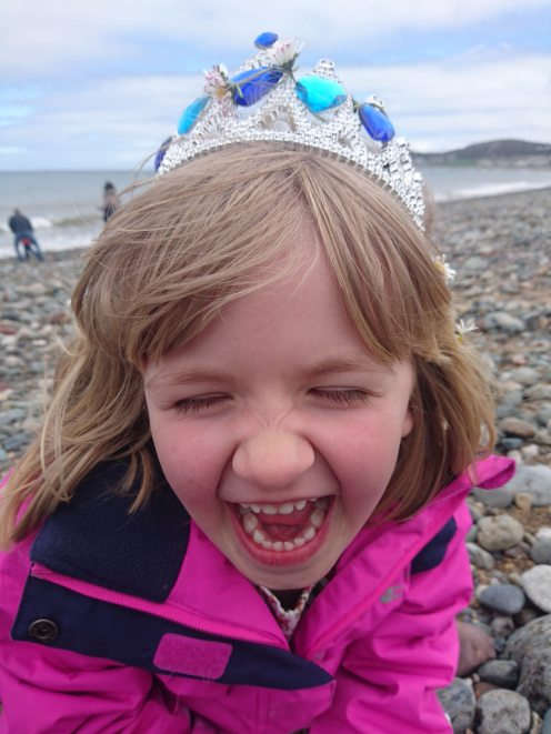 Corliss at Llandudno Beach