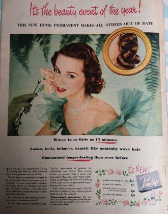 Pin-Lip Vintage Advert 1952