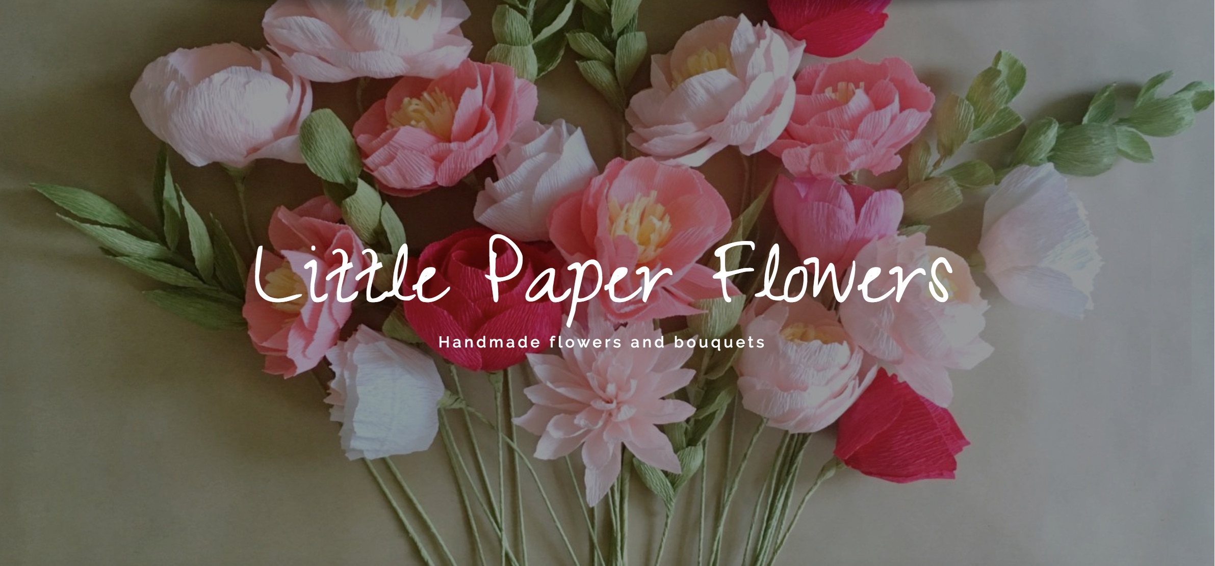 Home   Little Paper Flowers