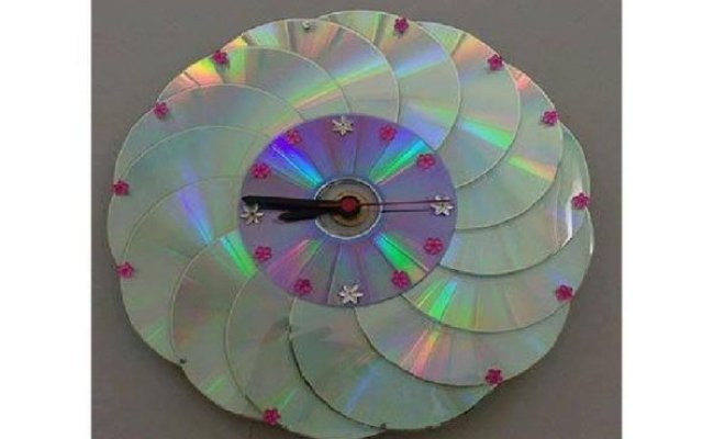 How To Recycle Cds Diy Decor With Old Cds Littlepieceofme