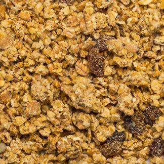 close up of Muesli Crunchy Basic Organic
