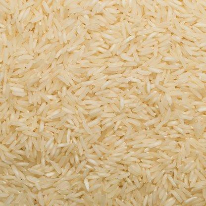 close up of Basmati White Taraori Organic