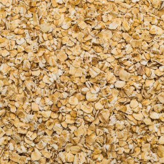 close up of Oat Flakes Broken Gluten-Free Organic