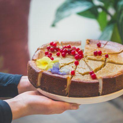 vegan cheesecake (Willem-Pie)
